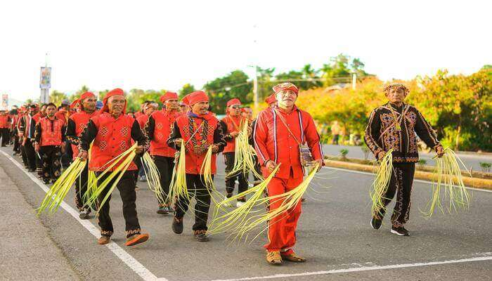 attend the festival in Philipinnes