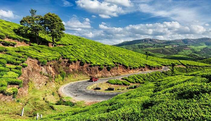 road trips from kerala