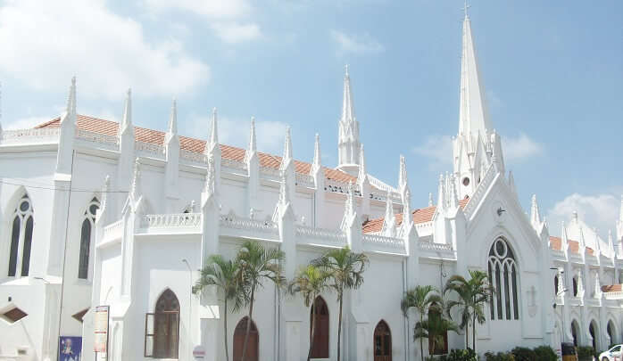 Santhome Church so beautiful