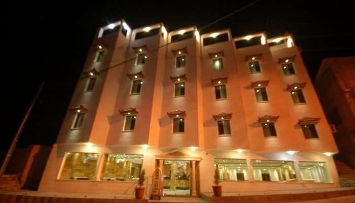 It is a family-run three-star hotel