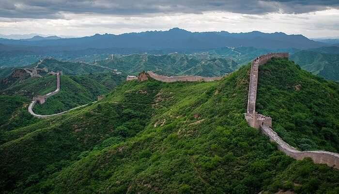 Scaling The High Wall Of China
