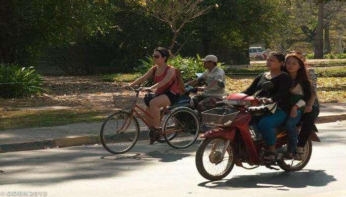 Siem Reap Biking Experience