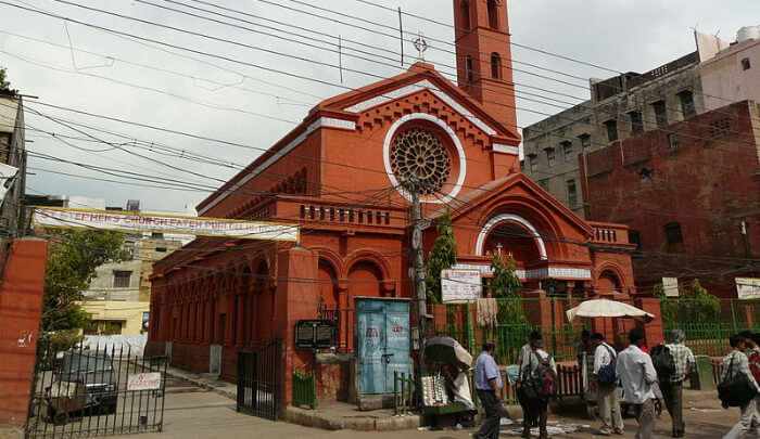 St. Stephen's Church in Delhi