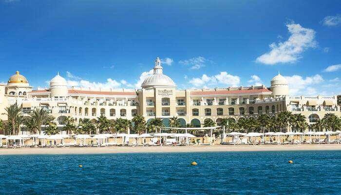 resort is quite luxurious