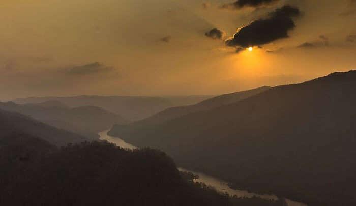 magnificent views of Dandeli