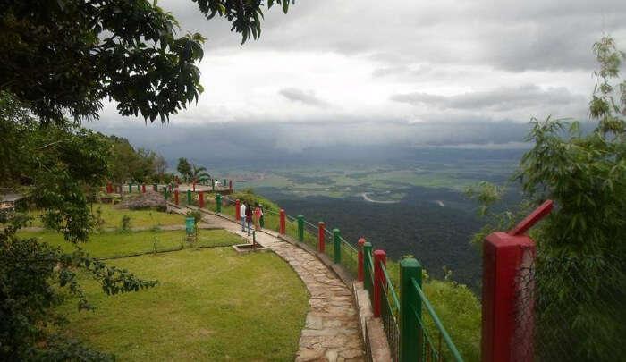 Thangkharang Park in Meghalaya