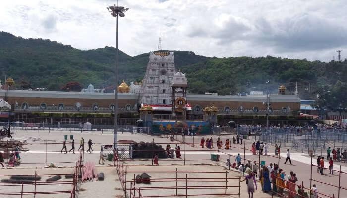 Tirupati is a religious place