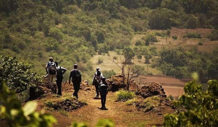 trekking in lavasa