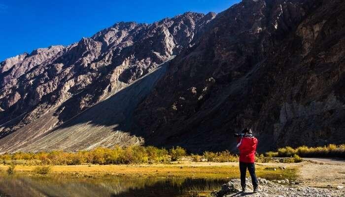 Valleys in Ladakh