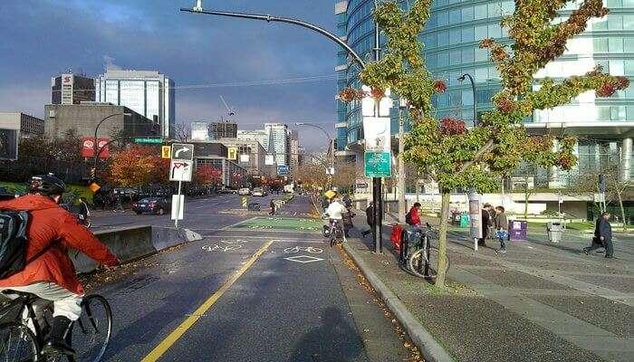Vancouver in British Columbia