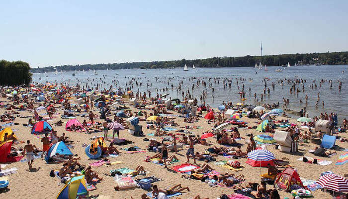 Wannsee Beach in Germany