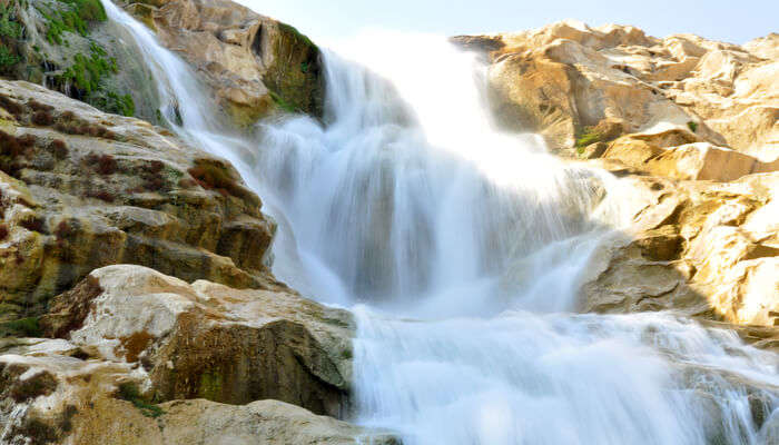 Beautiful waterfalls near Warangal