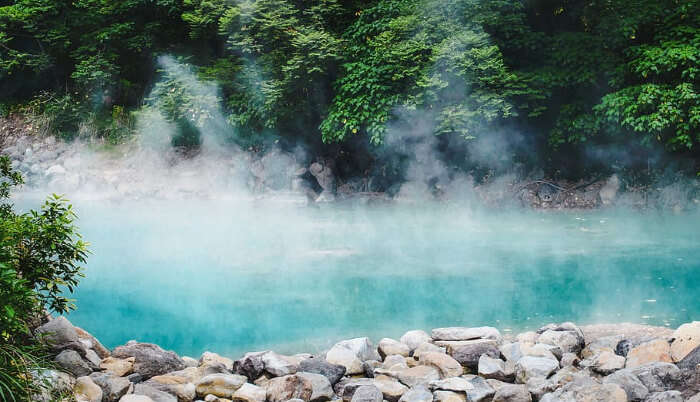Hot Springs In Taiwan