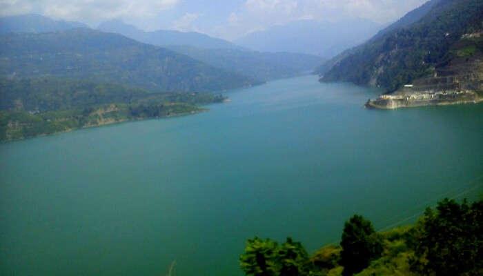 bhilangana river