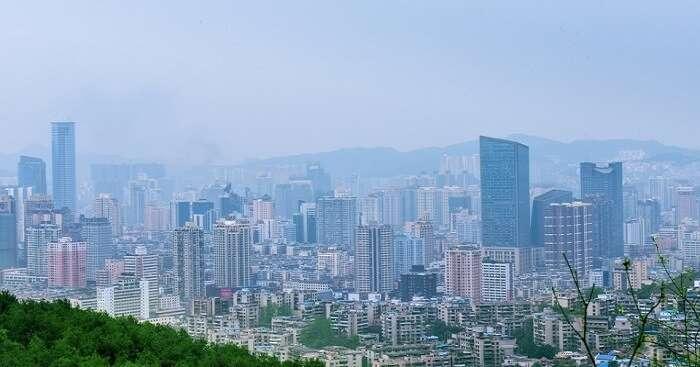 china in april