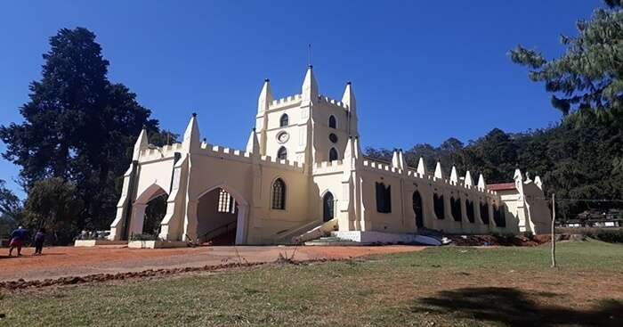 churches in Ooty