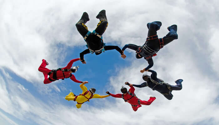 Skydiving in Germany