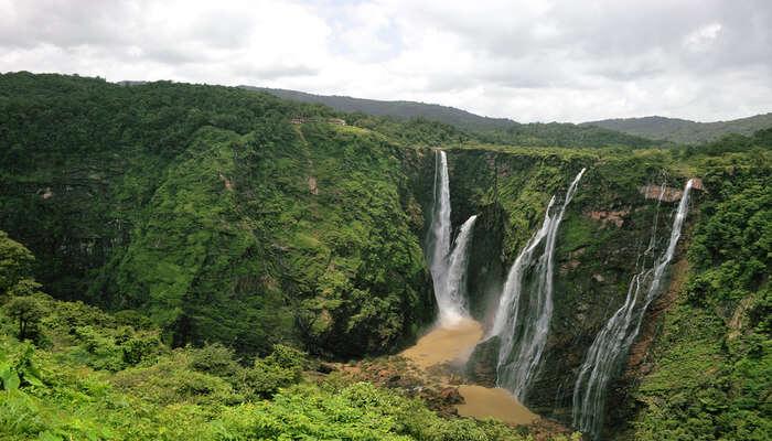 Best waterfalls in shimoga