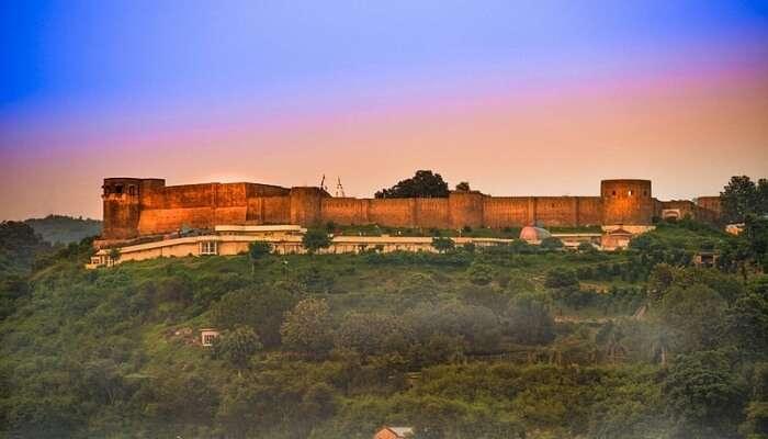 Bahu Fort so wonderful view