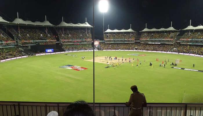 Cricket Ground Of Chail