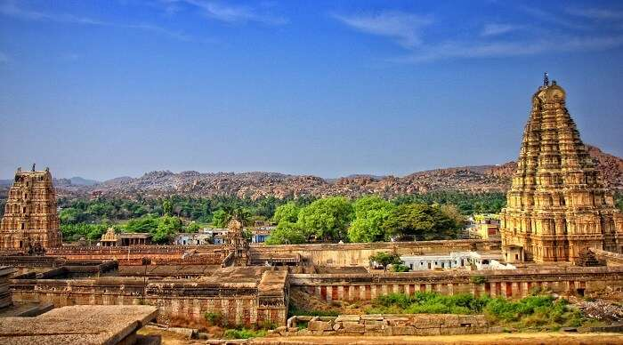hampi is the best place for visit
