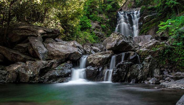 Hanuman Gundi Falls View