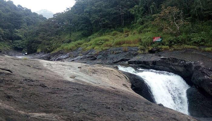 Kozhippara Waterfall in Malappuram