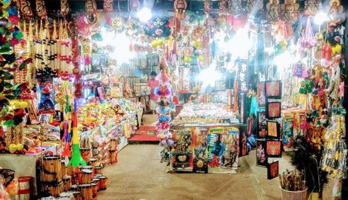 Shopping Market in Guruvayur