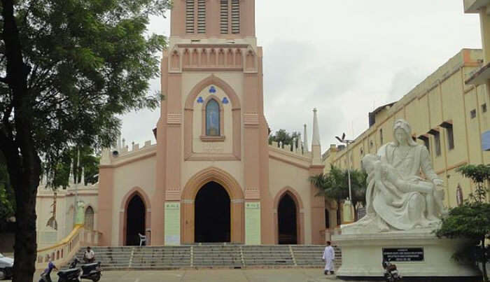 St.-Mary's-Church in Hyderabad