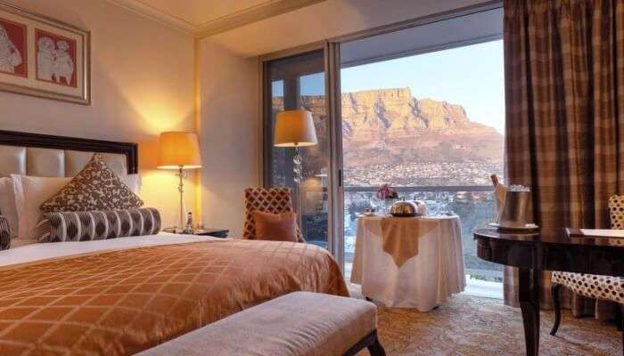 taj cape town is the place for stay