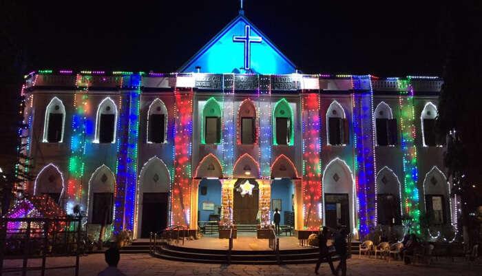 Wesley Church in Hyderabad