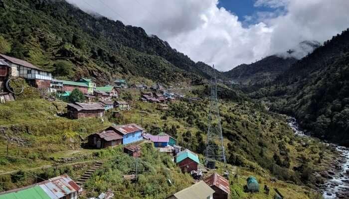 beautiful Himalayan land