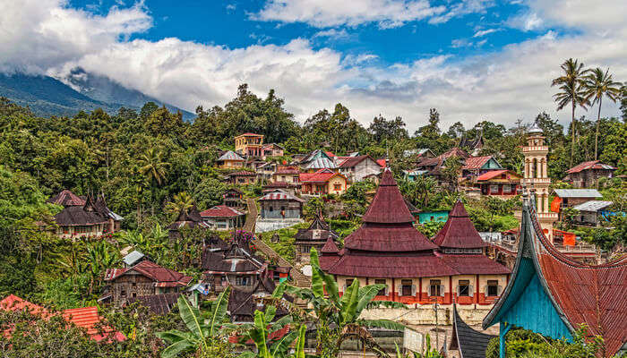 traditional indonesian town