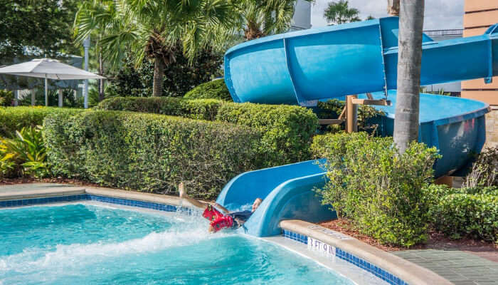 A Water Slide