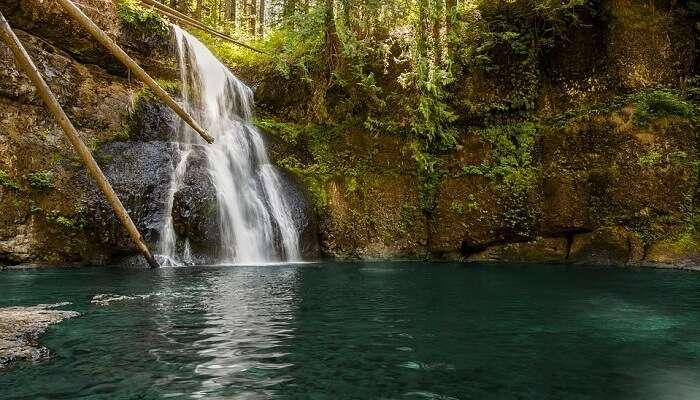 Chakra Theertham Waterfalls