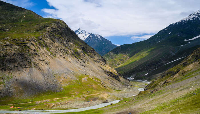 a picturesque corner of south Kashmir