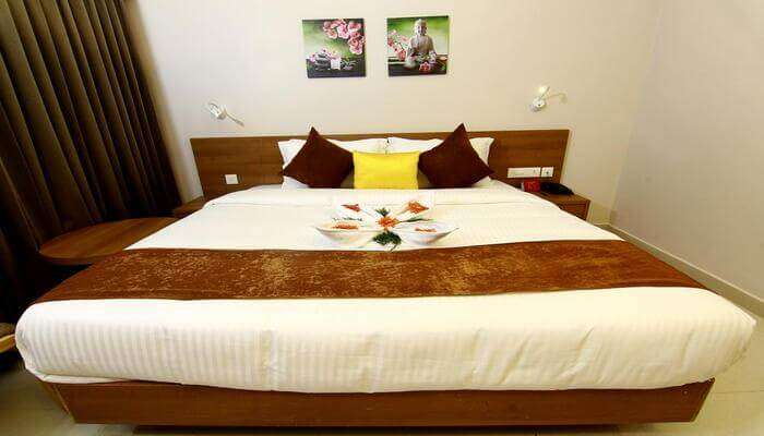 hotel ensures a cosy stay