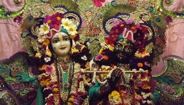 Banke Bihari Temple In Vrindavan
