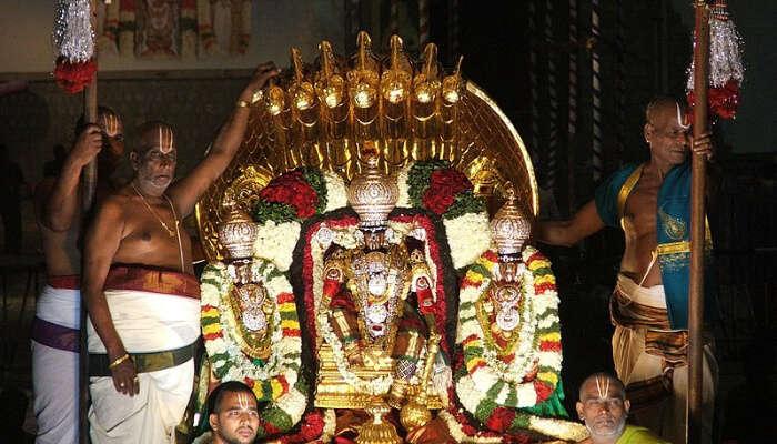 Brahmotsavam Festival: Largest One In Vrindavan