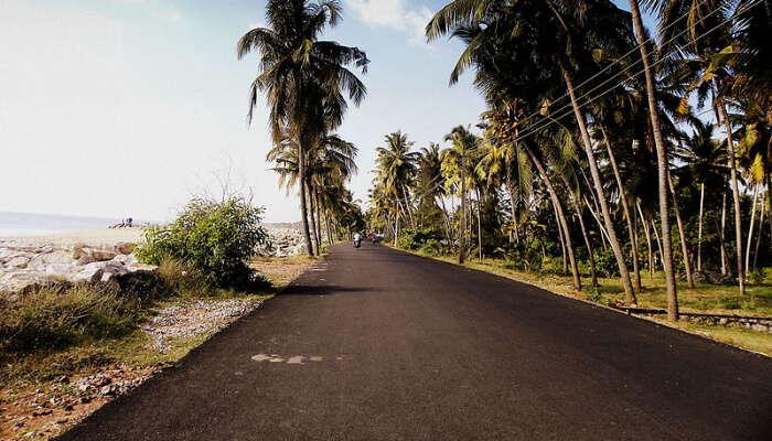 Paravur Costal Road