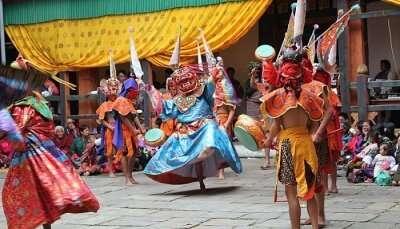 Jakar tsechu, Ging Tsholing Cham