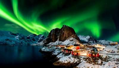 Cover- Places To See Northern Lights