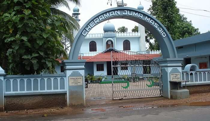 mosque in the picture
