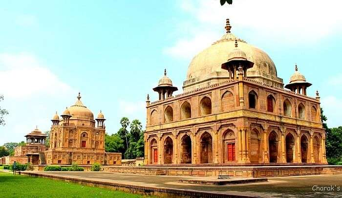 a reminder of beautiful Mughal architecture