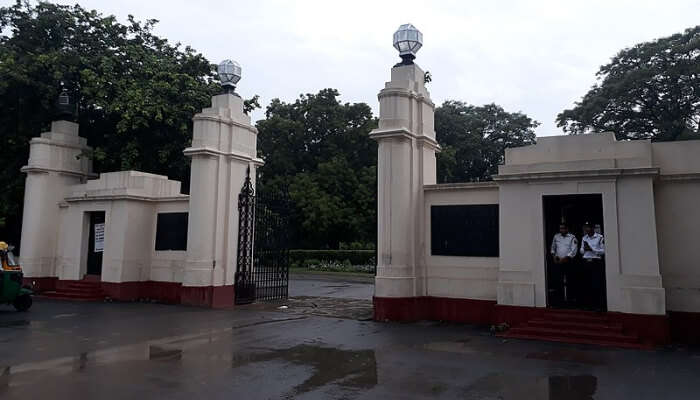 Nehru Memorial Museum and Library Front Gate