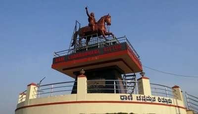 Rani Chennamma statue