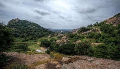 hilly region of Ramanagara
