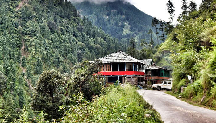 A Cottage In Tirthan Valley