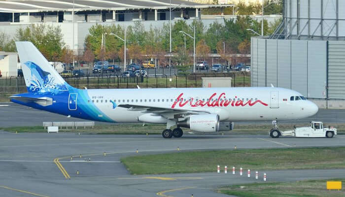 A Maldivian Airlines Plane