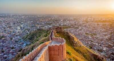 Aerial View from Nahargarh Fort